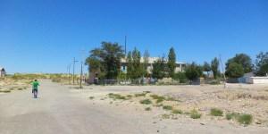 The hotel in Moynaq