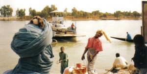 Ferry on the way to Timbuktu